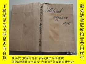 二手書博民逛書店Political罕見Affairs 1976Y18256