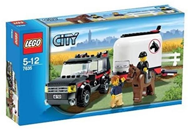 LEGO City LEGO Town 4WD 7635 帶軟管拖車