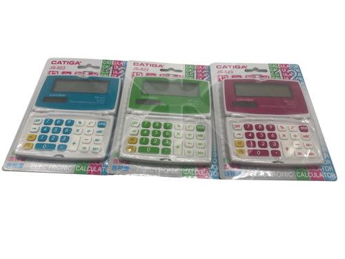 【好市吉居家生活】CATIGA JS-823 攜帶型可折疊電子計算機 電算機 計算機 12位數