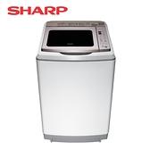 [SHARP 夏普]17公斤 變頻超震波洗衣機 ES-SDU17T