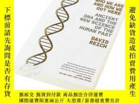 二手書博民逛書店我們是誰,我們怎麽來到這裏罕見英文原版 Who We Are and How We Got Here 遺傳 生物科