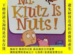二手書博民逛書店My罕見Weird School #2: Mr. Klutz Is Nuts! 瘋狂學校#2:克拉茲先生瘋了!