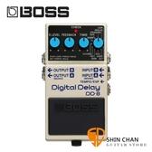 Boss DD-8 數位延遲效果器 BOSS五年保固【Digital Delay/DD8/經典延遲】