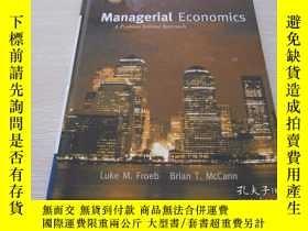 二手書博民逛書店【MBA】Managerial罕見Economics: A Pr