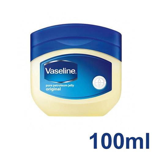 【Vaseline】凡士林膏 100ml 凡士林 潤膚膏 預防龜裂 保濕肌膚 滋潤保養 印度製造 - 2634