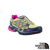 The North Face 女 越野跑鞋-黃/藍 CXX7AZD-AA【GO WILD】
