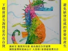 二手書博民逛書店Mister罕見Seahorse Board Book 海馬先生