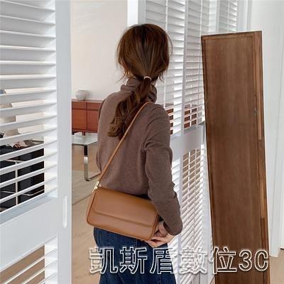 實拍韓國質感流行小眾腋下包百搭法棍單肩小包包女包新款時尚 凱斯盾