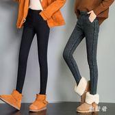 小腳緊身牛仔褲 外穿2018新款仿牛仔顯瘦秋冬加厚鉛筆女加絨 BF13013【旅行者】
