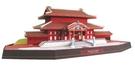 【發現.好貨】日本沖繩首里城建築模型 首里城3D紙模型 手工DIY紙模型日本代購模型