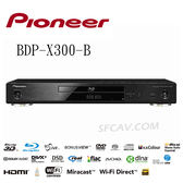 【竹北勝豐群音響】PIONEER BDP-X300-B高音質3D藍光播放機
