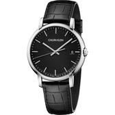 Calvin Klein CK Established 系列手錶-黑/43mm K9H211C1