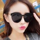 太陽鏡 墨鏡gm新款墨鏡女正韓潮網紅款時尚街怕ins圓臉防紫外線太陽眼鏡