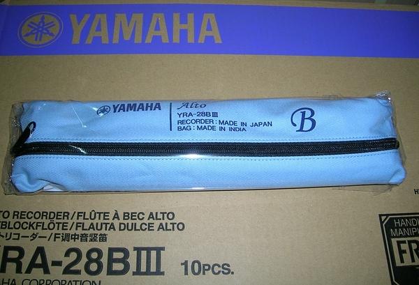 【樂器館】山葉中音直笛 YRA-28BIII日本製(全新產品)