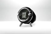 【Jebely】機械手錶自動上鍊盒 簡約風格 JBW090 時尚黑 單手錶轉台 動力儲存錶機 台灣製