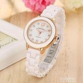 手錶女-手錶女士防水時尚潮流簡約鑲鑽石英錶百搭女生錶 東川崎町