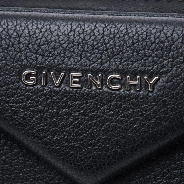 ■專櫃69折■ 全新真品■Givenchy Antigona Small 小款 小牛皮兩用包 黑色