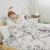 #U103#舒柔超細纖維6x6.2尺雙人加大床包+枕套三件組-台灣製(不含被套)
