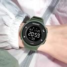 50M防水簡約電子錶多功能手錶反顯運動時...