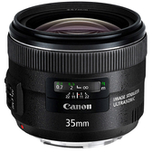 送UV保護鏡+吹球清潔組 Canon EF 35mm F2 IS USM 大光圈廣角鏡頭 公司貨