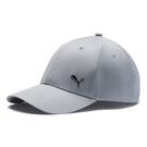 Puma 藍灰色 帽子 運動帽 老帽 遮陽帽 六分割帽 金屬LOGO 運動帽 02126919