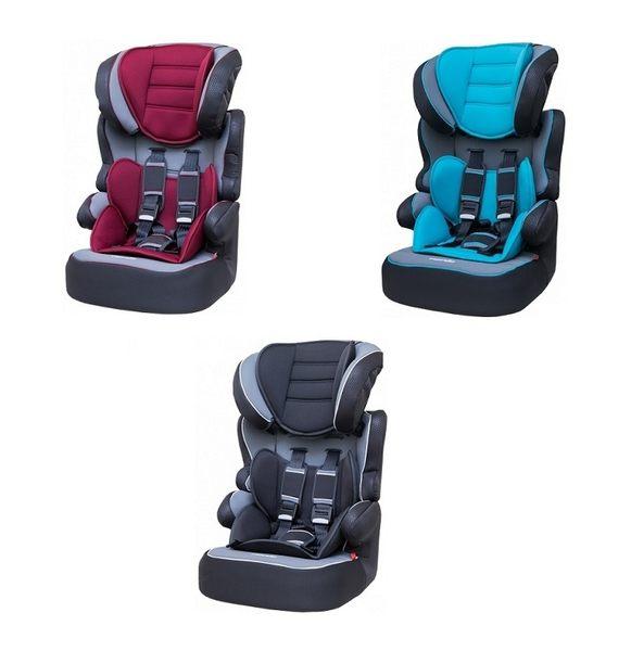 『121婦嬰用品館』納尼亞 成長型汽座-旗艦款FB00320 (紅/藍/黑)