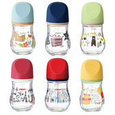 貝親 設計款寬口玻璃奶瓶160ml (6款可選)