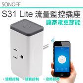 SONOFF台灣公司貨【S31電流量監測插座】手機APP遠端網路遙控開關