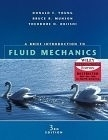 二手書博民逛書店 《A Brief Introduction to Fluid Mechanics, 3/e》 R2Y ISBN:0471462608│DonaldF.Young