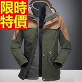 登山外套-防風透氣防水保暖男滑雪夾克62y15【時尚巴黎】