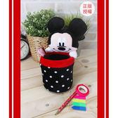 米奇桌上置物桶星星迪士尼收納桶 米奇筆筒蕾寶