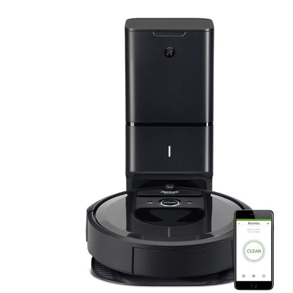 iRobot Roomba i7+台灣獨家限量版 自動倒垃圾&AI規劃路徑&wifi&APP 掃地機器人(限量版組合優惠)