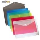《享亮商城》G901 透明 橫式黏扣袋公文袋(A4) HFP