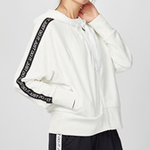 Nike Fleece Hoodie 女子 白色 串標 毛圈內裏 連帽 運動 休閒 外套 BV5042-100
