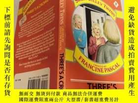 二手書博民逛書店three s罕見a crowd 三個人是一群人Y200392