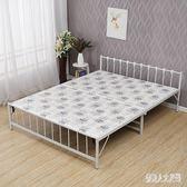 折疊床兩折床午休床陪護床鐵架床硬板床木板床鐵床行軍床WL2303【俏美人大尺碼】