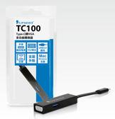 [ 中將3C ]    UPMOST 登昌恆  TC100 Type-C轉VGA多功能轉換器   TC100