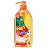泡舒檸檬洗潔精 1000g 壓瓶裝【愛買】