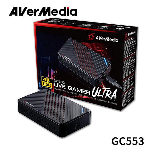 AVerMedia 圓剛 Live Gamer ULTRA 4K GC553 實況擷取盒