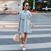 女童旗袍洋裝童裝雪紡裙 免運