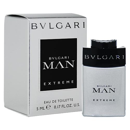 【BVLGARI】MAN EXTREME 極致當代 男性淡香水 5ml (原廠沾式)