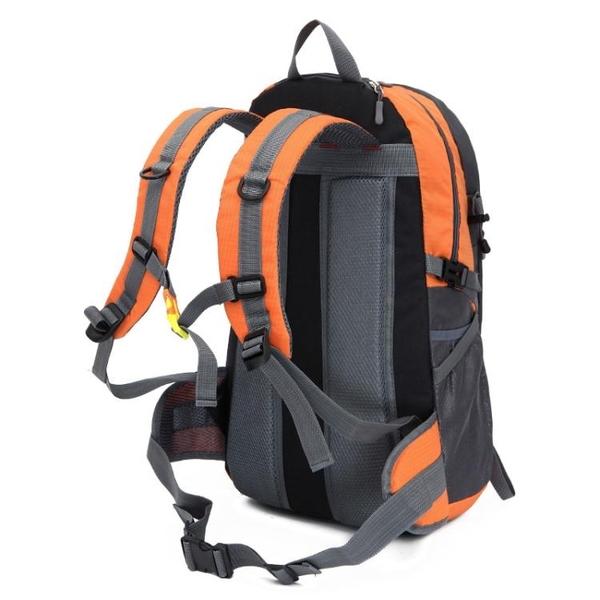 新款輕便戶外登山包40L 防水尼龍後背包 男女徒步旅行騎行包大容