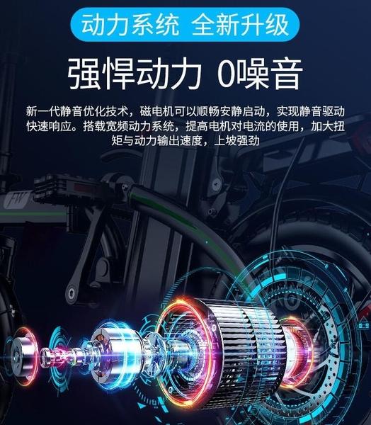 12h快速出貨 電動車 折疊電動車 自行車 100KM續航 電動機車 腳踏車 電動自行車台灣現貨
