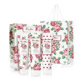韓國EVAS玫瑰香水護手霜禮盒 3條入 (附提袋) 【櫻桃飾品】【24438】