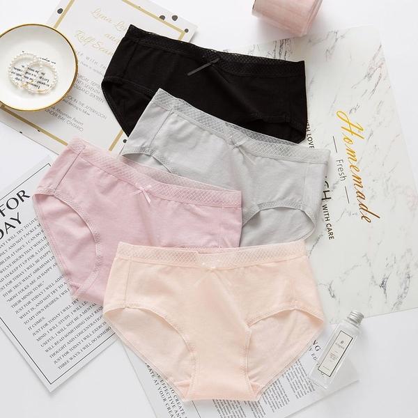 【TM00771】簡約精梳棉透氣內褲。七色
