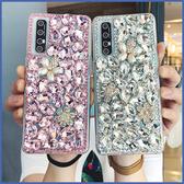 HTC Desire 19s 19+ U19e U12+ life Desire12s U11 EYEs U11+ 寶石珍珠花 手機殼 水鑽殼 訂製