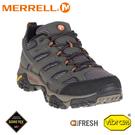 【MERRELL 美國 男 MOAB 2 GORE-TEX登山鞋《深灰》】ML06039W/健行/戶外鞋