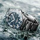 原廠公司貨.海洋之星 單向旋轉錶圈,時標指針/夜光 陶瓷上圈,動力80小時