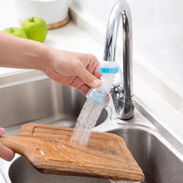 年終大促可旋轉水龍頭防濺花灑自來水過濾嘴廚房濾水器閥噴頭過濾器節水器 熊貓本