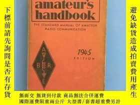 二手書博民逛書店民國書籍《1945·The罕見radio amateur's handbook》(業余無線電愛好者手冊)Y38